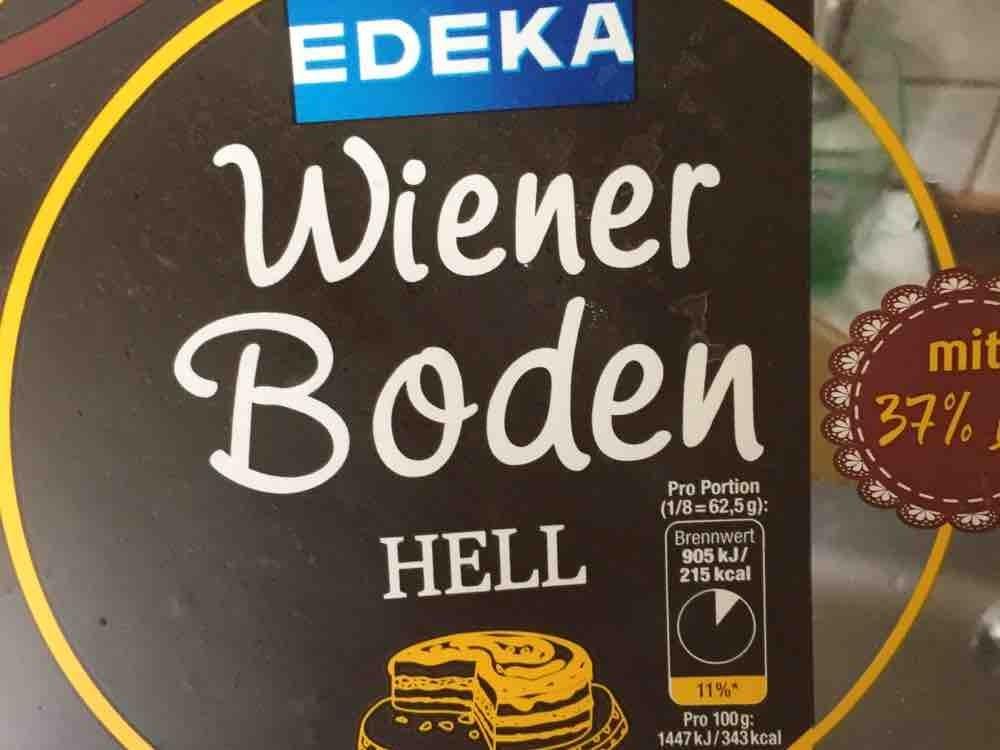 Edeka Wiener Boden Hell Mit 37 Ei Kalorien Neue Produkte Fddb