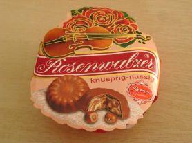 Reber Rosenwalzer-Törtchen, Haselnuss-Nougat | Hochgeladen von: Teecreme