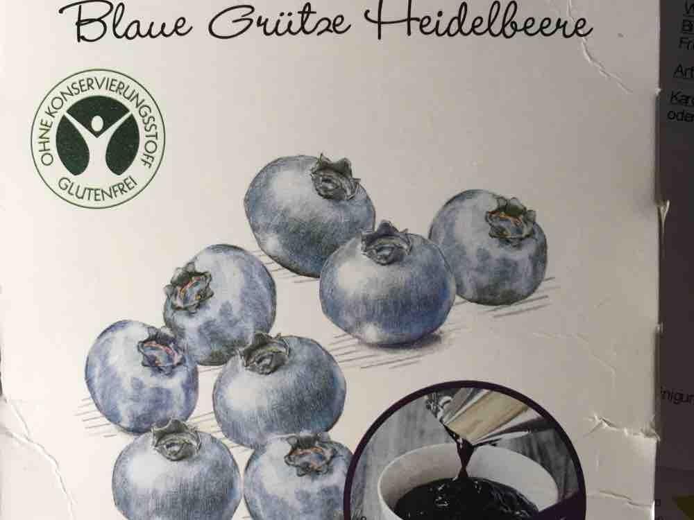 Blaue Grütze Heidelbeere  von ankala | Hochgeladen von: ankala