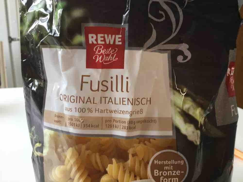 Fusilli, original italienisch aus 100% Hartweizengrieß von molli18 | Hochgeladen von: molli18