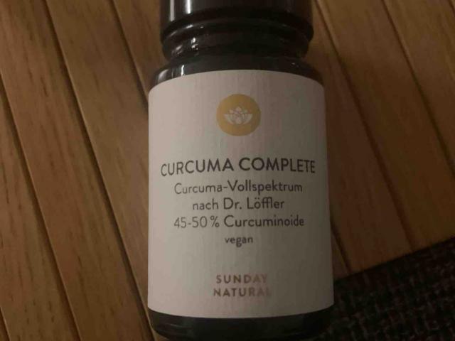 Curcuma Complete 250mg, De.Löffler  , cureit 112mg von Flietel   Hochgeladen von: Flietel
