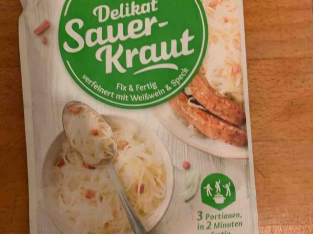 Delikat-Sauerkraut mit Räucherspeck von Nicki77   Hochgeladen von: Nicki77
