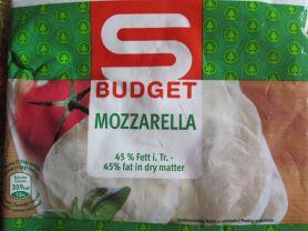 S Budget Mozzarella   Hochgeladen von: maikroth699