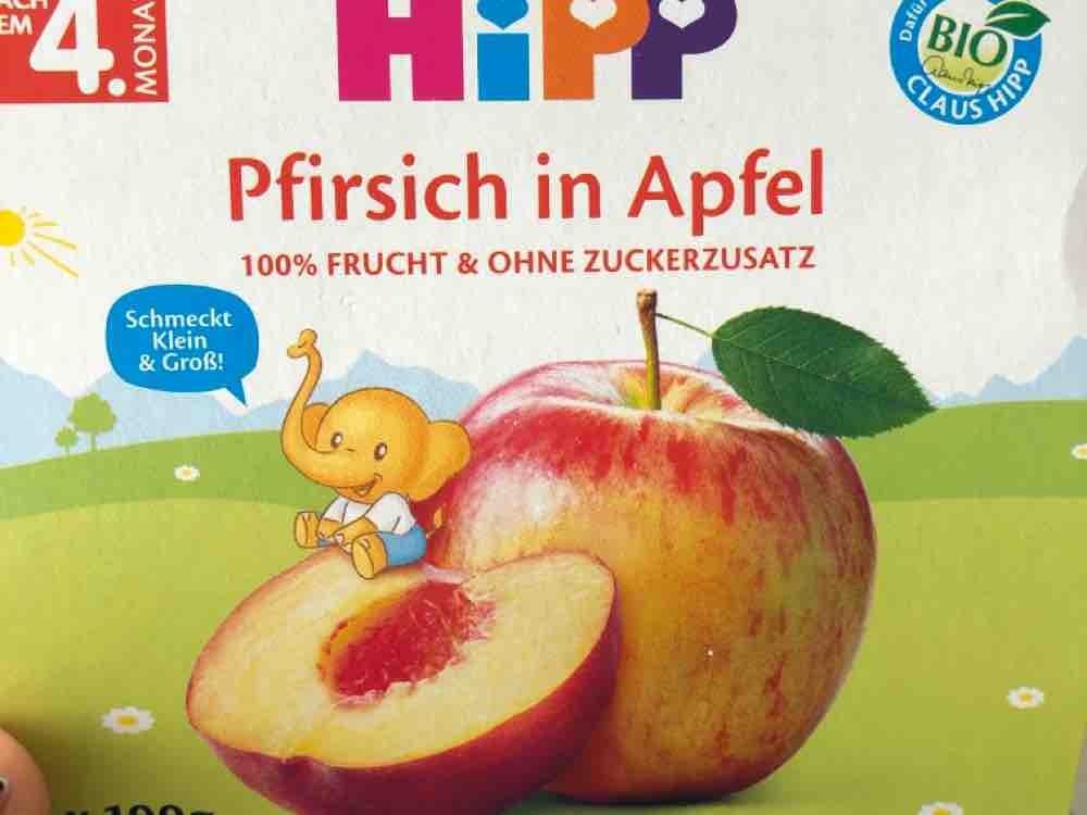Pfirsich in Apfel von VictoriaSiEgLer   Hochgeladen von: VictoriaSiEgLer