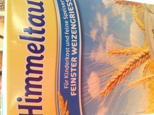 Feinster Weizengriess , Ungezuckert | Hochgeladen von: Zausy