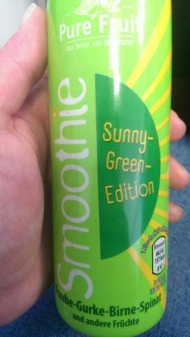 Pure Fruit Smoothie Sunny-Green-Edition, Traube-Gurke-Birne- | Hochgeladen von: Kleines Miststück