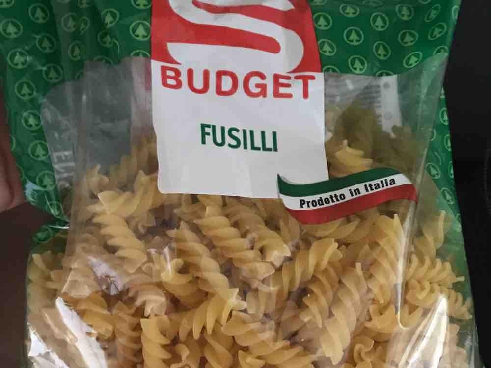 Fusilli S-Budget, Nudeln von Djheinzi97   Hochgeladen von: Djheinzi97