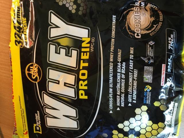 All Stars Whey Protein, Cookie Cream   Hochgeladen von: mcdeeds90