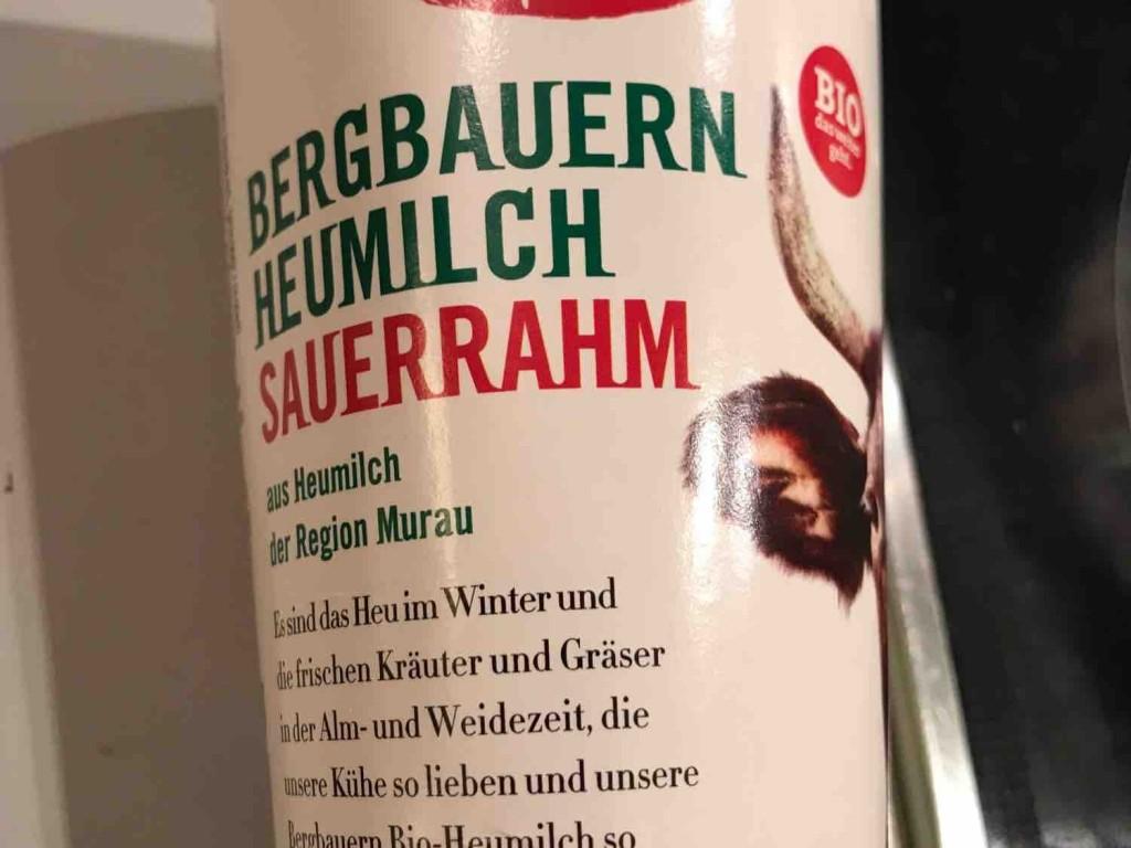 Murauer Bergbauern Sauerrahm aus Heumilch von gabrielaraudner758   Hochgeladen von: gabrielaraudner758