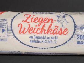 Französischer Ziegenweichkäse, aus pasteurisierter Ziegenmil   Hochgeladen von: Siebbi