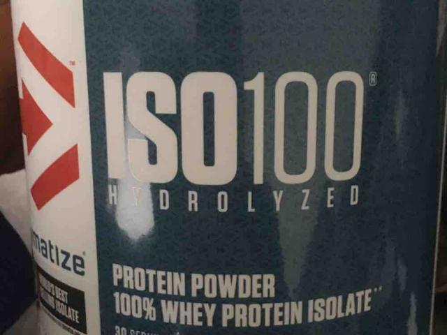 Iso 100 hydrolized protein powder, 100% Wheye Protein Isolate von Probbi | Hochgeladen von: Probbi