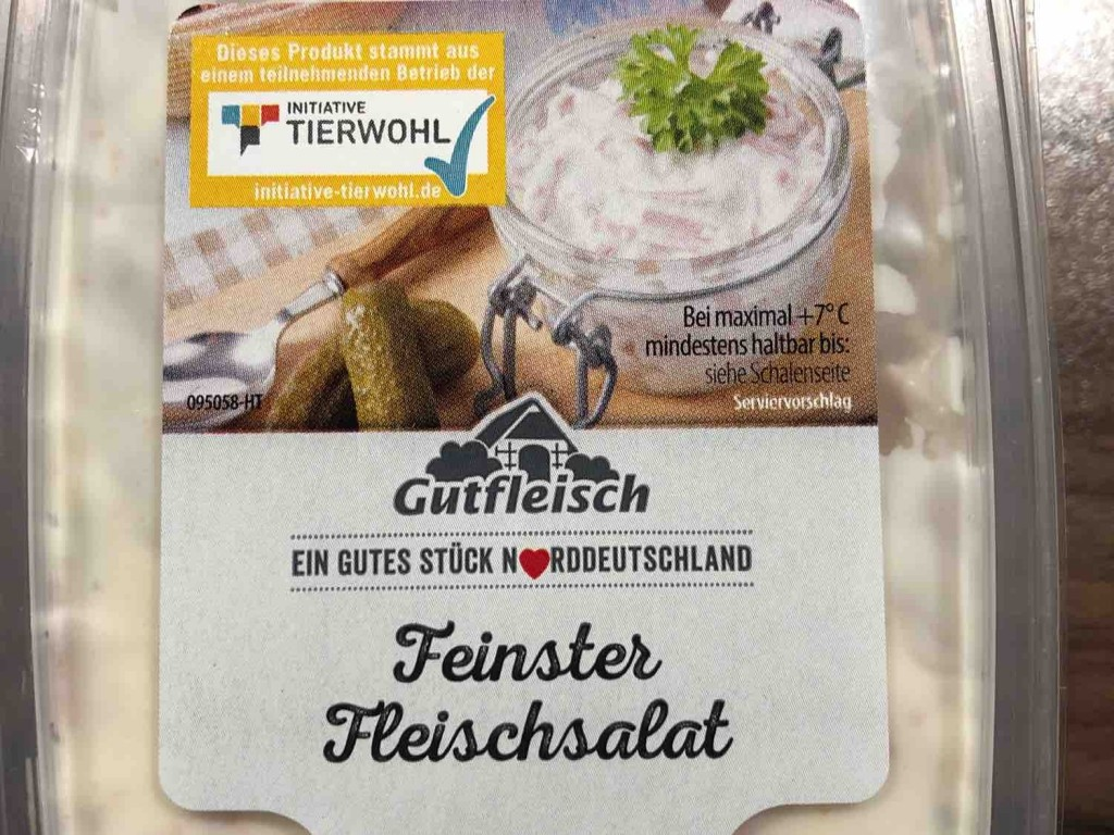 Feinster Fleischsalat von stachnbe | Hochgeladen von: stachnbe
