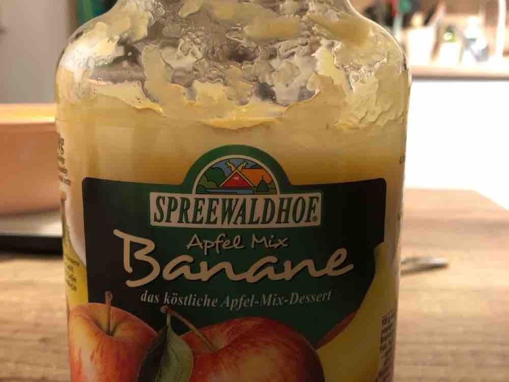 Banane -Apfel-Mix, Apfelmus mit Bananenpüree von BenJo | Hochgeladen von: BenJo