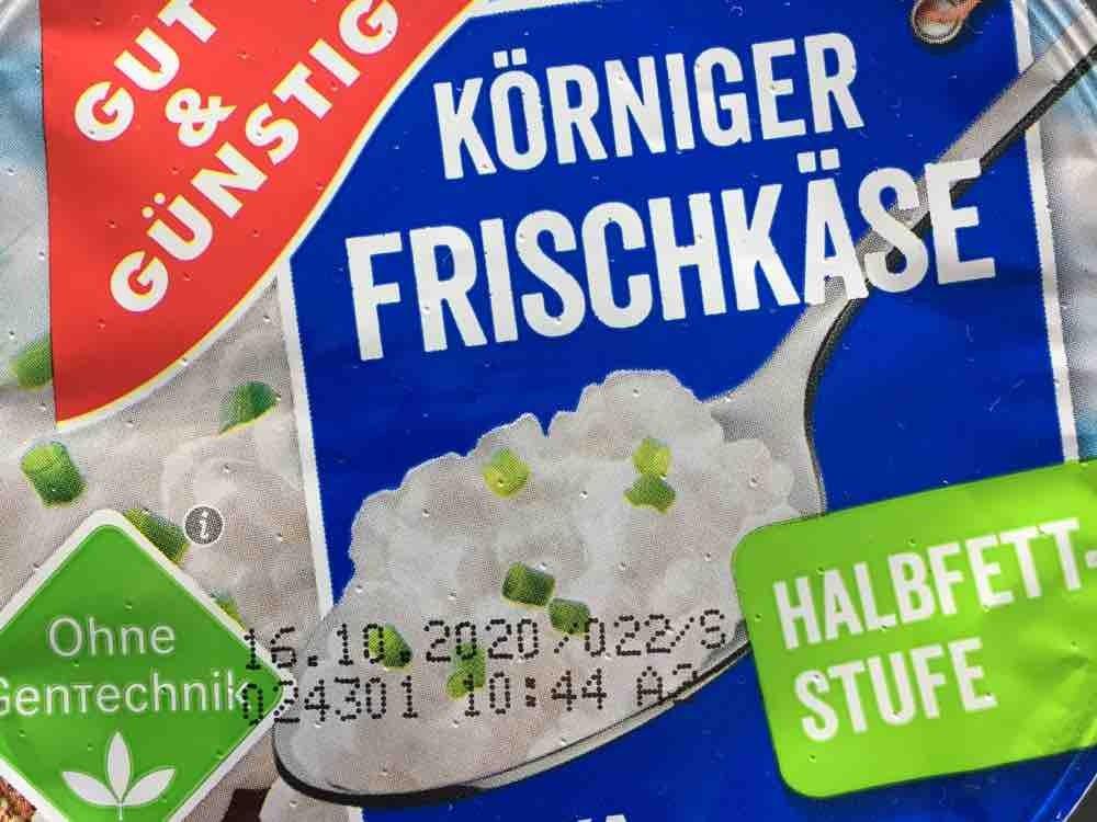 Körniger Frischkäse, Halbfettstufe 4% von alex8 | Hochgeladen von: alex8
