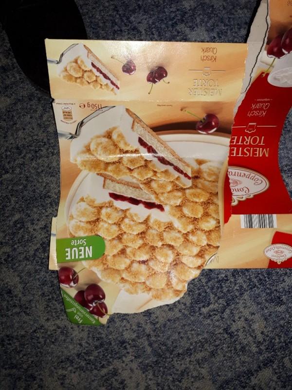 Kirsch-Quark-Torte,  MEISTERTORTE tiefgefroren  von Mao75   Hochgeladen von: Mao75