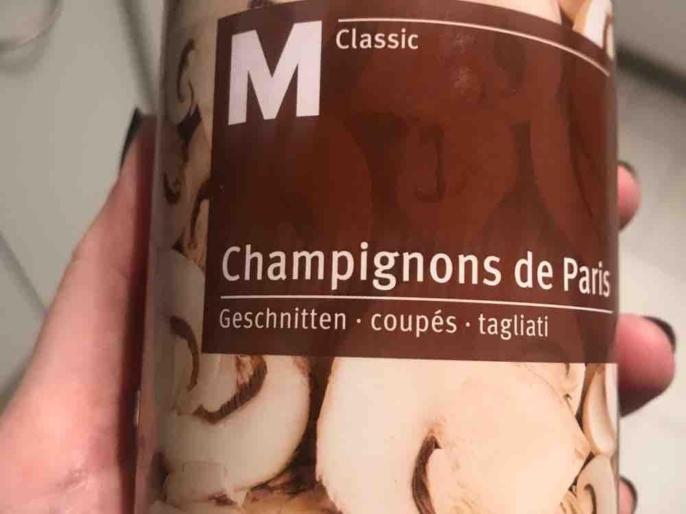 Champignons de Paris geschnitten von Jennniii86   Hochgeladen von: Jennniii86