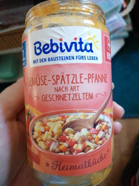 Bebivita Gemüse-Spätzle-Pfanne von Skade   Hochgeladen von: Skade
