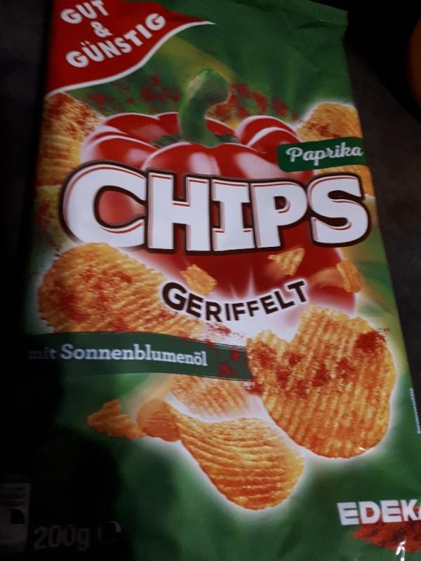 Chips Paprika, geriffelt von numrollen | Hochgeladen von: numrollen