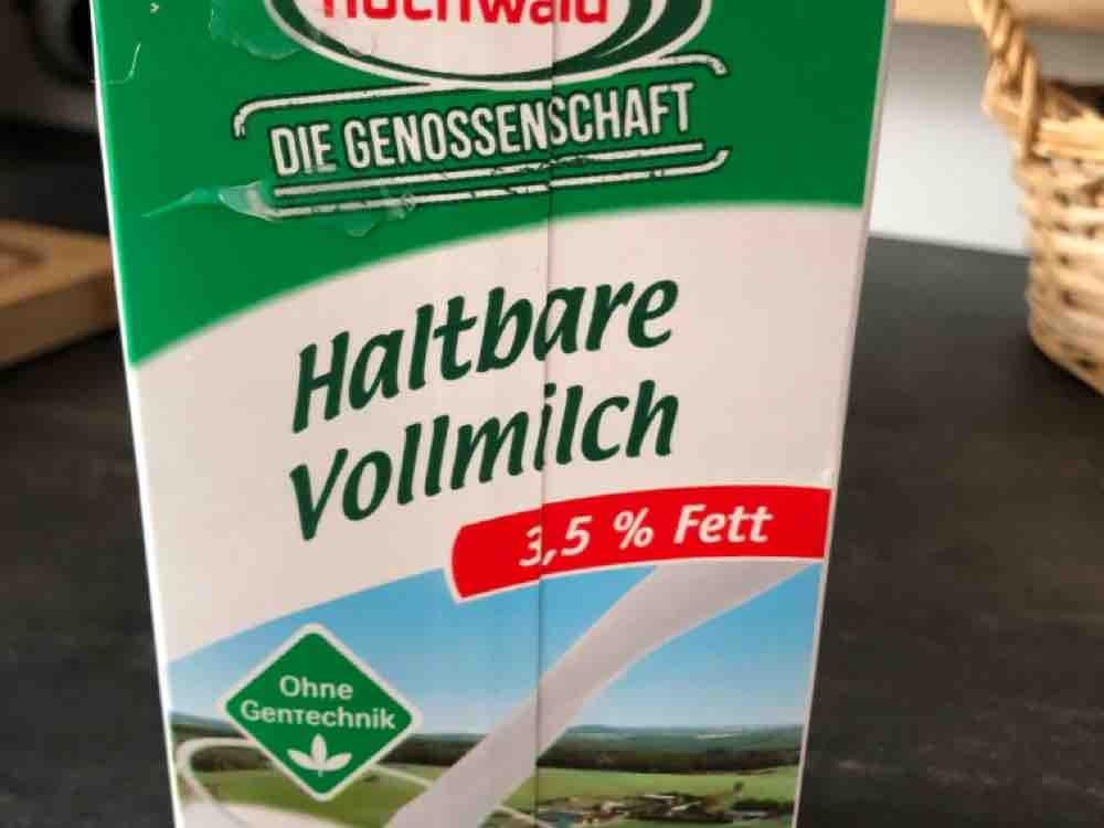 Hochwald Haltbare Vollmilch, 3,5 % Fett von Jana | Hochgeladen von: Jana