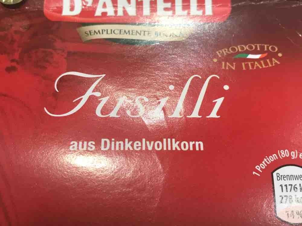 Fusilli, aus Dinkelvollkorn von DaKain | Hochgeladen von: DaKain