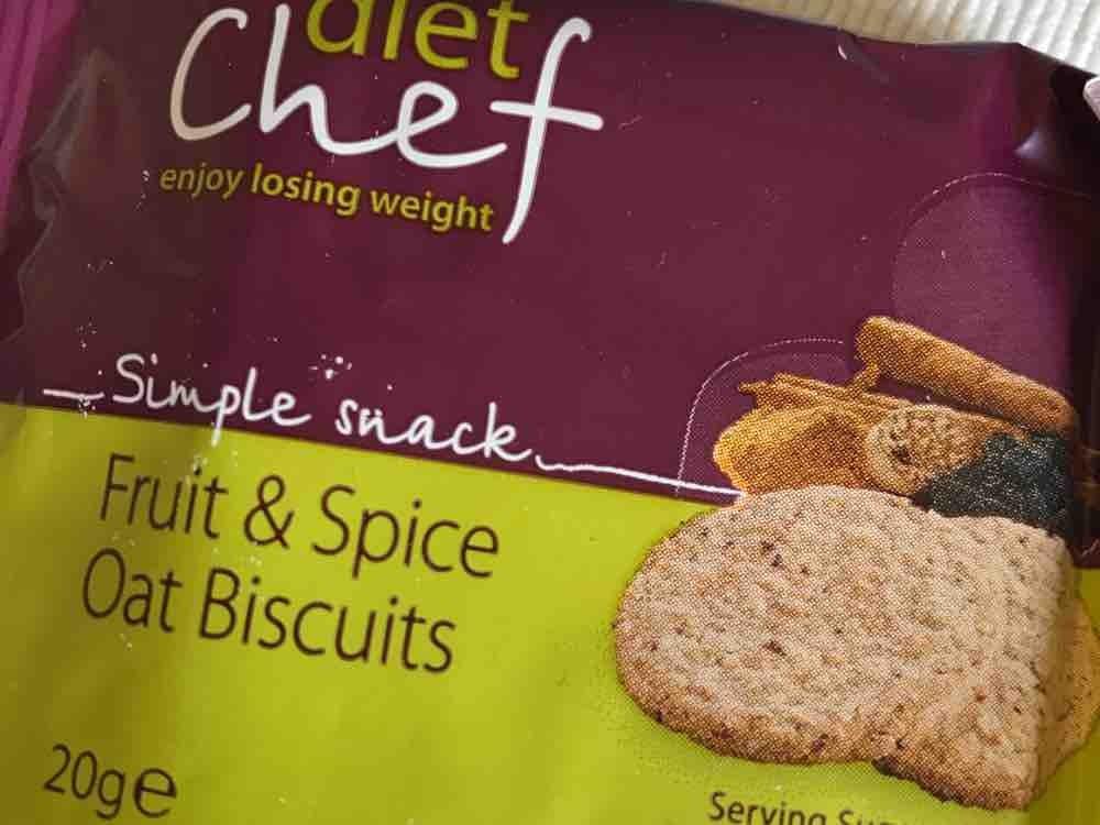 Oat Biscuits / Kekse, Fruit and spice / Frucht und Gewürz von assilemm763 | Hochgeladen von: assilemm763