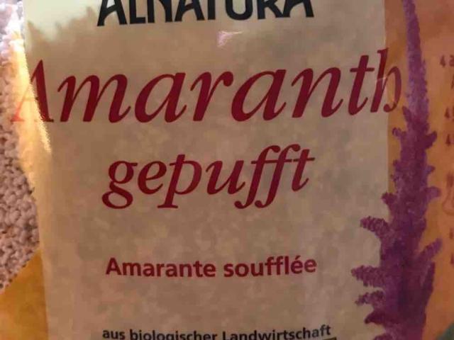 Amaranth gepufft von Binchen1993 | Hochgeladen von: Binchen1993