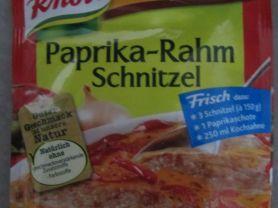 Knorr Fix, Paprika-Rahm Schnitzel | Hochgeladen von: marina5376