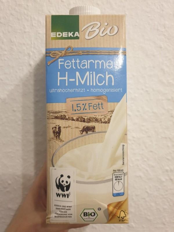 Bio Wertkost fettarme H-Milch 1,5% Fett von Lu9   Hochgeladen von: Lu9