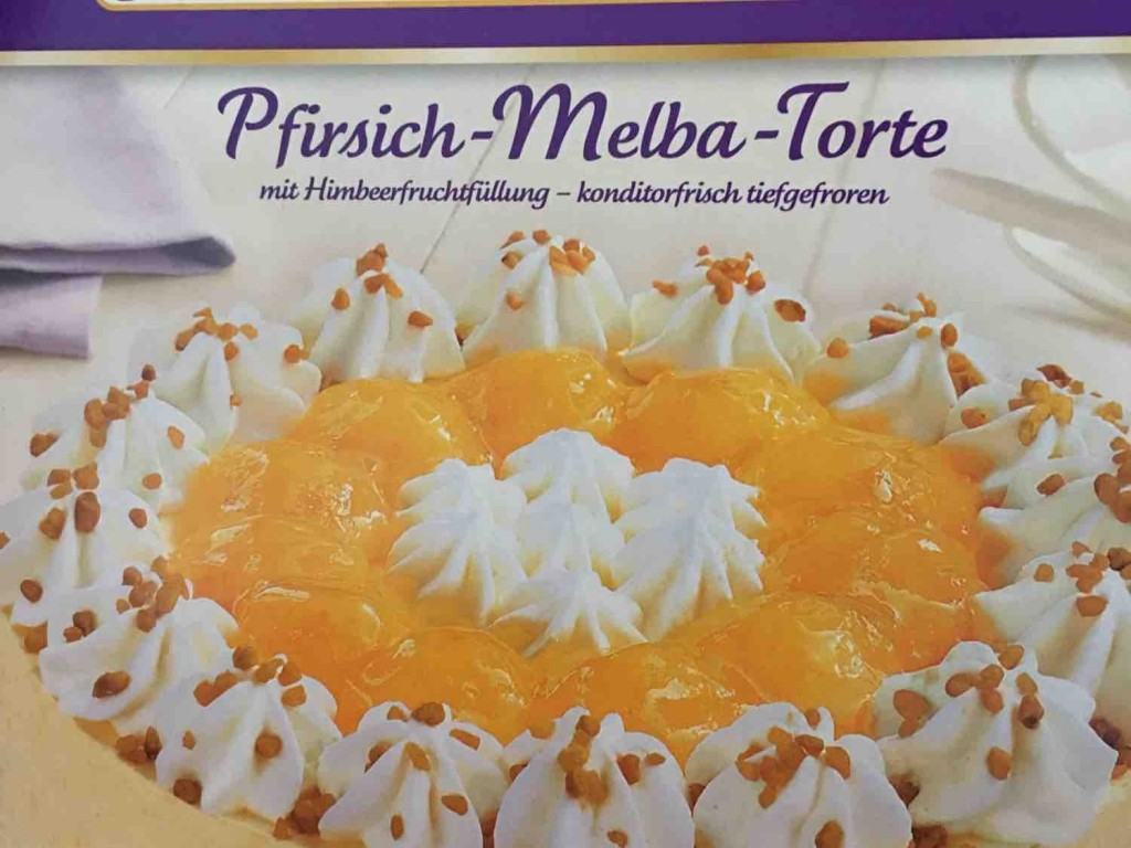 Grotemeyer S Konditorei Pfirsich Melba Torte Kalorien Kuchen