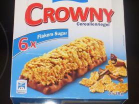 Crowny Cerealienriegel, Flakers Sugar   Hochgeladen von: Schwarzbär