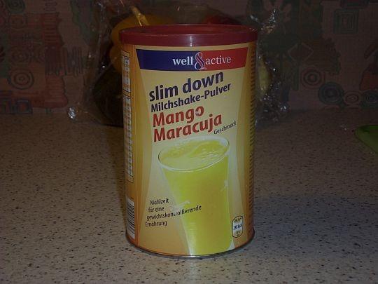 Slim Down Milchshake-Pulver, Mango Maracuja   Hochgeladen von: mittendorfers110