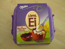 Löffel-Ei, Milchcreme   Hochgeladen von: Teecreme