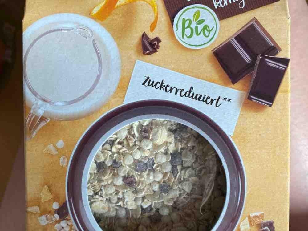 bio zartbitter orangen müsli, mit wasser von dreieck12   Hochgeladen von: dreieck12