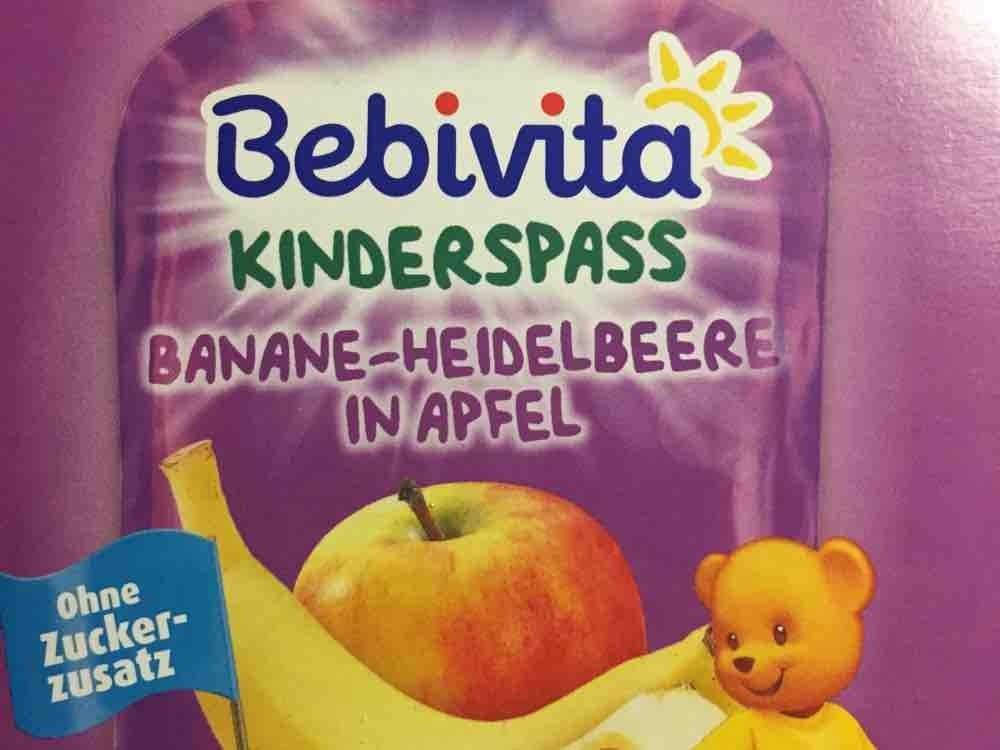 Bebevita Kinderspass Banane Heidelbeer, Banane Heidelbeer von Gipsy89 | Hochgeladen von: Gipsy89