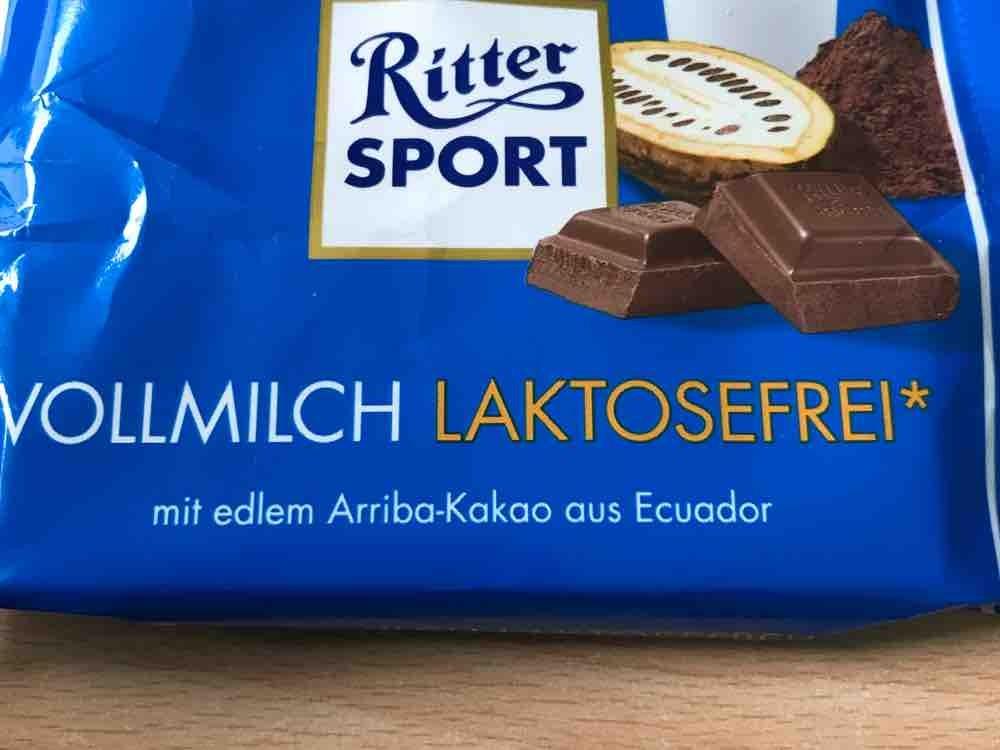 Ritter Sport Vollmilch Laktosefrei, Schokolade von FraPe74 | Hochgeladen von: FraPe74
