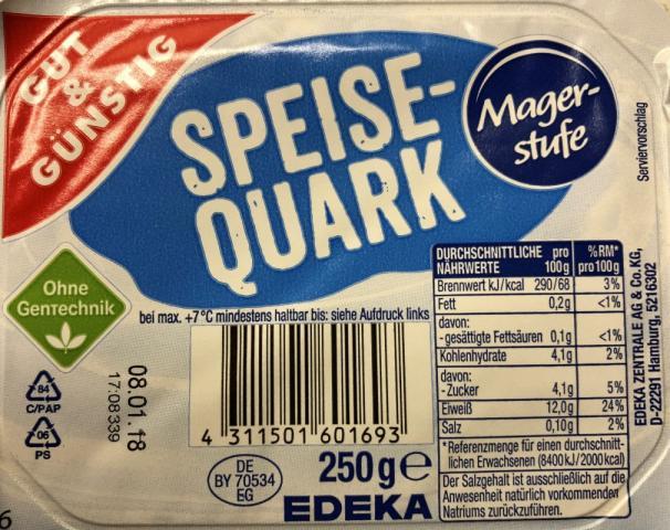 Speisequark (Magerstufe)   Hochgeladen von: KK66
