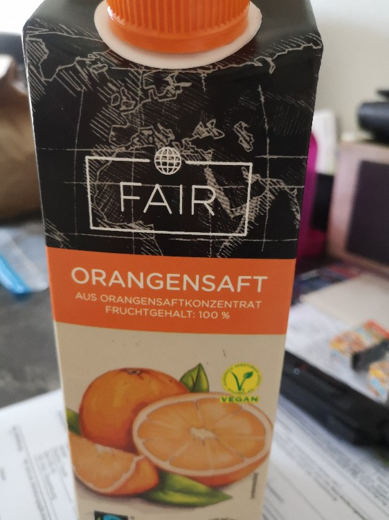 Orangensafz , Fruchttgehalt 100% von nici72 | Hochgeladen von: nici72