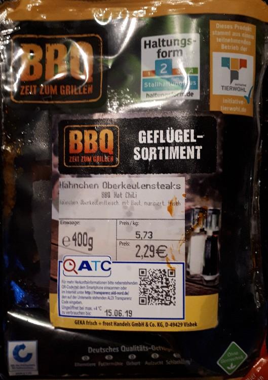 Hähnchen Oberkeulensteaks, BBQ Hot Chili von Natascha13   Hochgeladen von: Natascha13