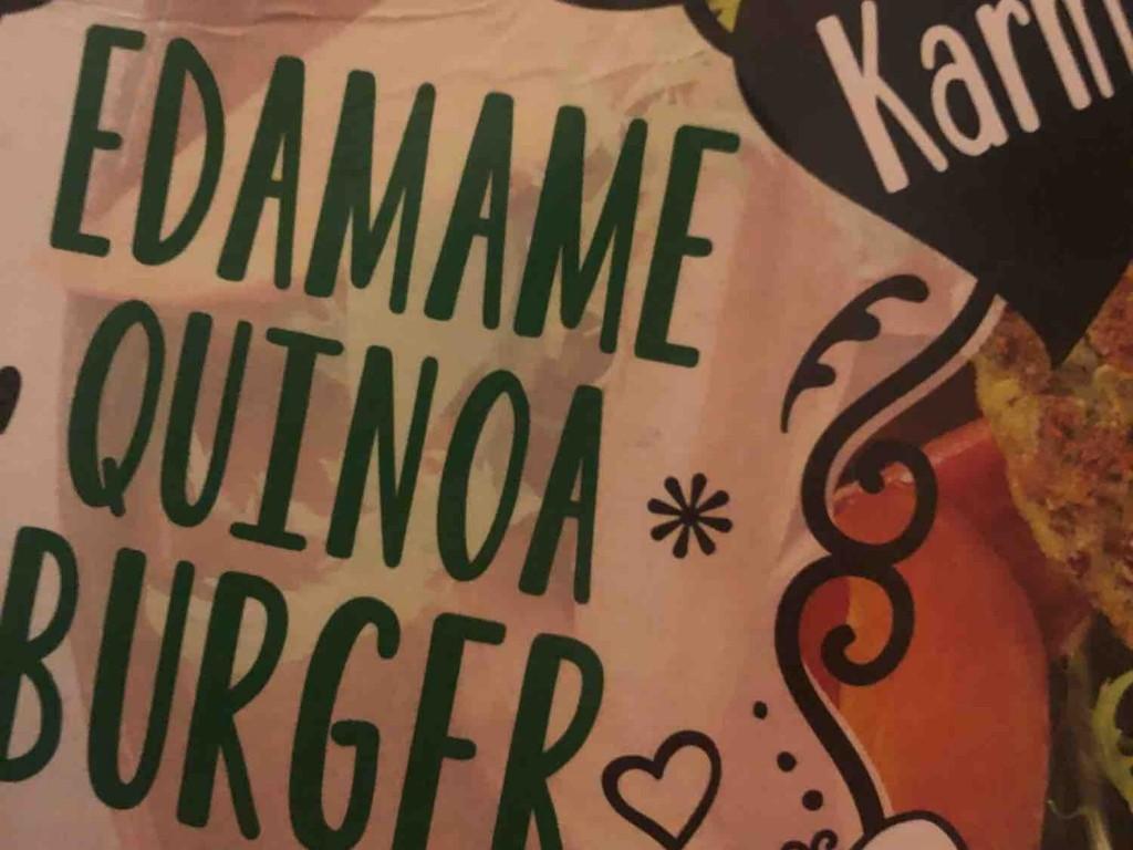 Edamame Quinoa Burger von Egzi | Hochgeladen von: Egzi