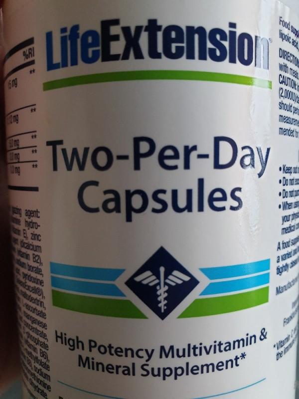 Two per Day Capsules von aho1285 | Hochgeladen von: aho1285