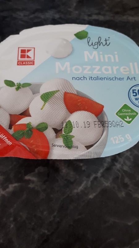Mini Mozzarella, light von Karina35   Hochgeladen von: Karina35