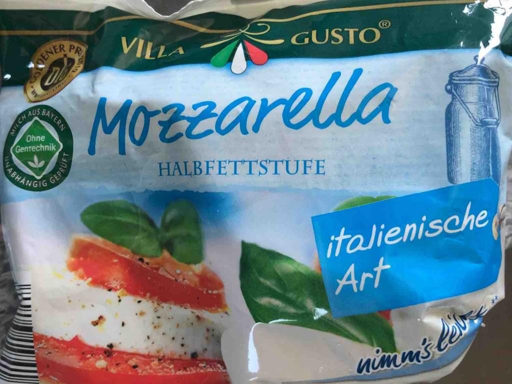Mozzarella, Halbfettstufe von LucianoVerdi1966   Hochgeladen von: LucianoVerdi1966