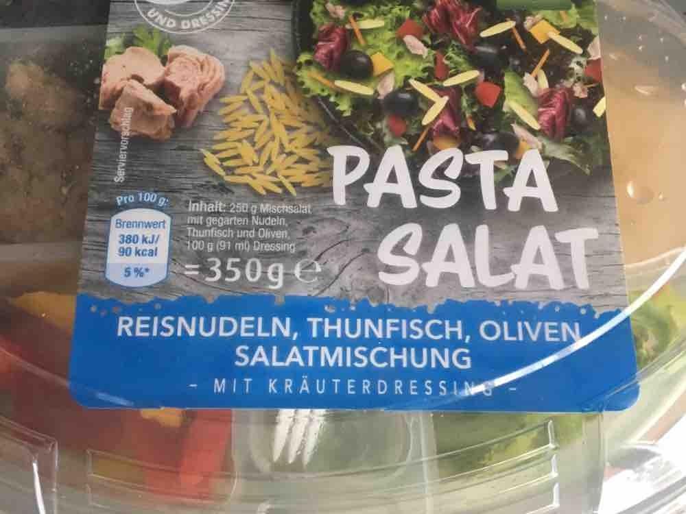 Salat mit Pasta, Thunfisch und Oliven  von mellydo416 | Hochgeladen von: mellydo416