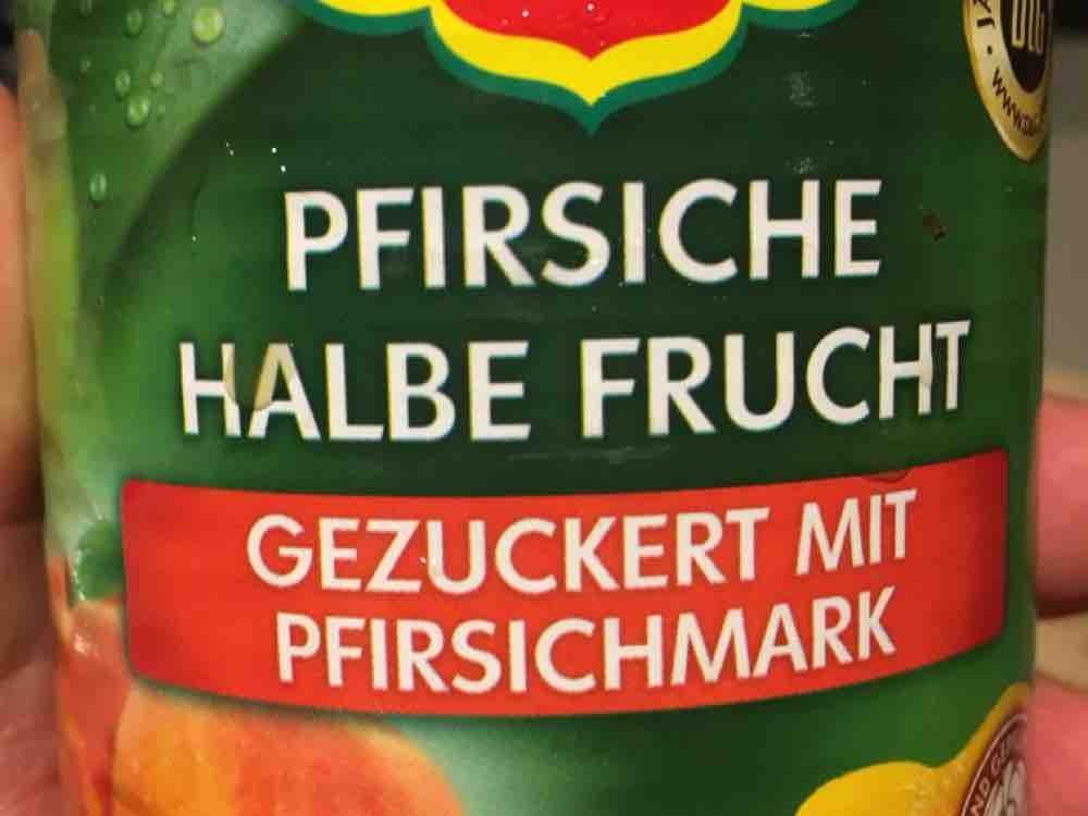 Pfirsiche, halbe Frucht, gezuckert von InDer1966 | Hochgeladen von: InDer1966