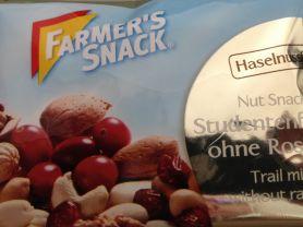 Nutsnack, Studentenfutter ohne Rosinen - Haselnussfrei- | Hochgeladen von: Palda