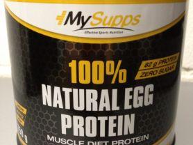 My Supps 100% Natural Egg Protein, Neutral | Hochgeladen von: Detlef C.