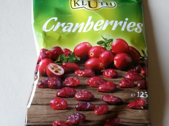 Cranberries , getrocknet, gezuckert   Hochgeladen von: jwilhelmt654