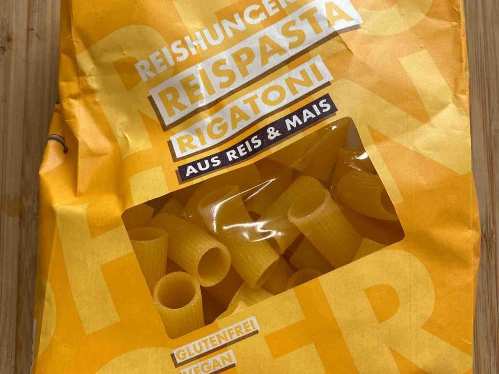 Rigatoni Reispasta, aus Mais und Reis von PA2019 | Hochgeladen von: PA2019