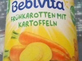 Bebivita Babys erstes Gemüse, Frühkarotten mit Kartoffeln | Hochgeladen von: WernerMS