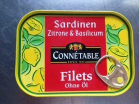 Sardinenfilets mit Zitrone und Basilicum ohne Öl | Hochgeladen von: calvin01